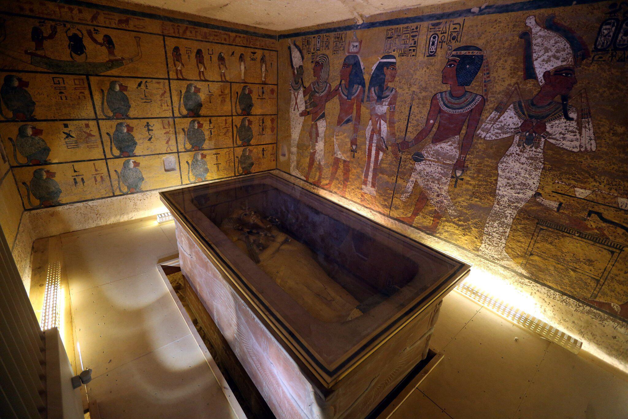 Bild zu Grabkammer von Tutanchamun