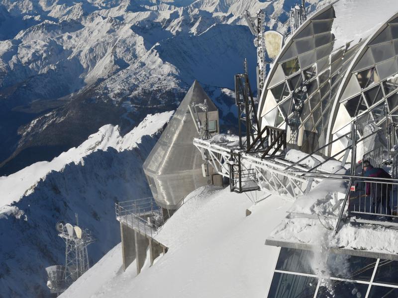 Bild zu Kälterekord auf der Zugspitze
