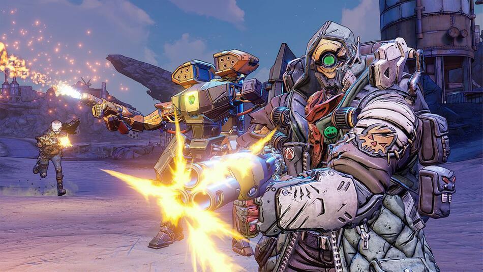 Borderlands, Loot-Shooter, Loot, Splitscreen, Gearbox, DLC, Add-on, FL4K , PS5, Xbox Series, X, S