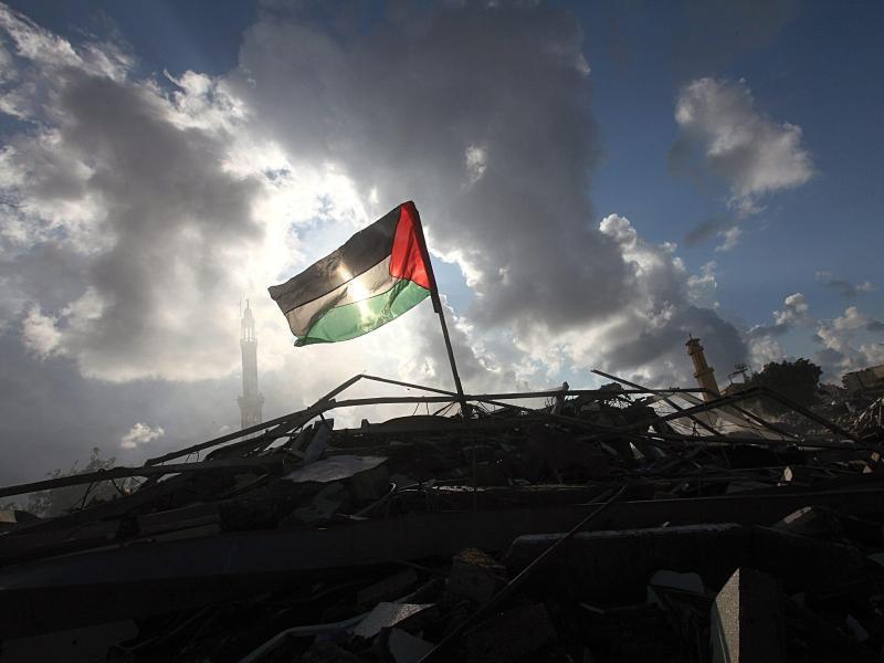 Bild zu Palästinensische Fahne