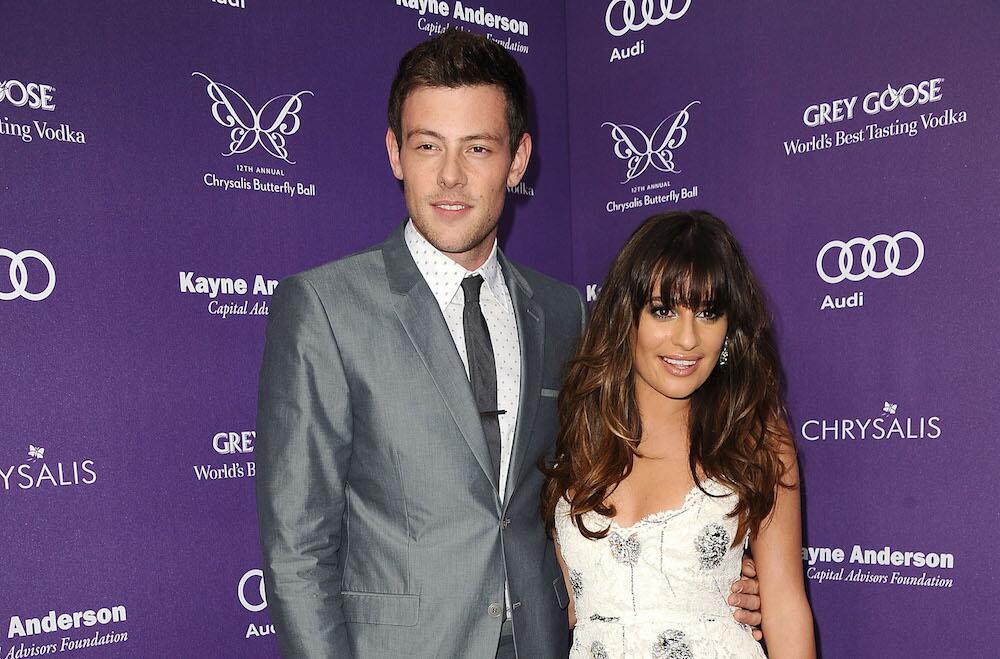 Bild zu Lea Michele und Cory Monteith im Juni 2013 bei einer Veranstaltung in Los Angeles