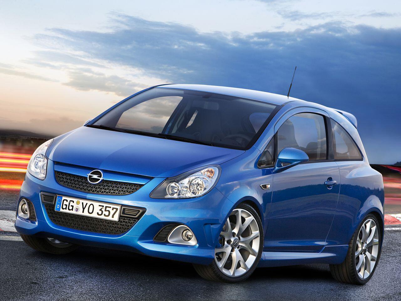 Bild zu Opel Corsa OPC