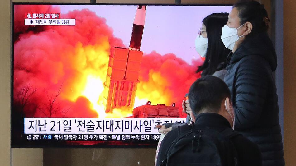 Raketentest in Nordkorea