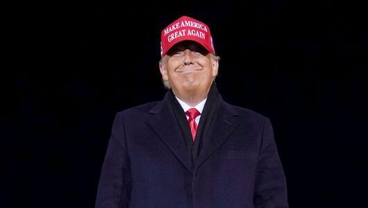 Donald Trump, USA, Präsident, Republikaner, Wahlkampf, Make America great again, Airport