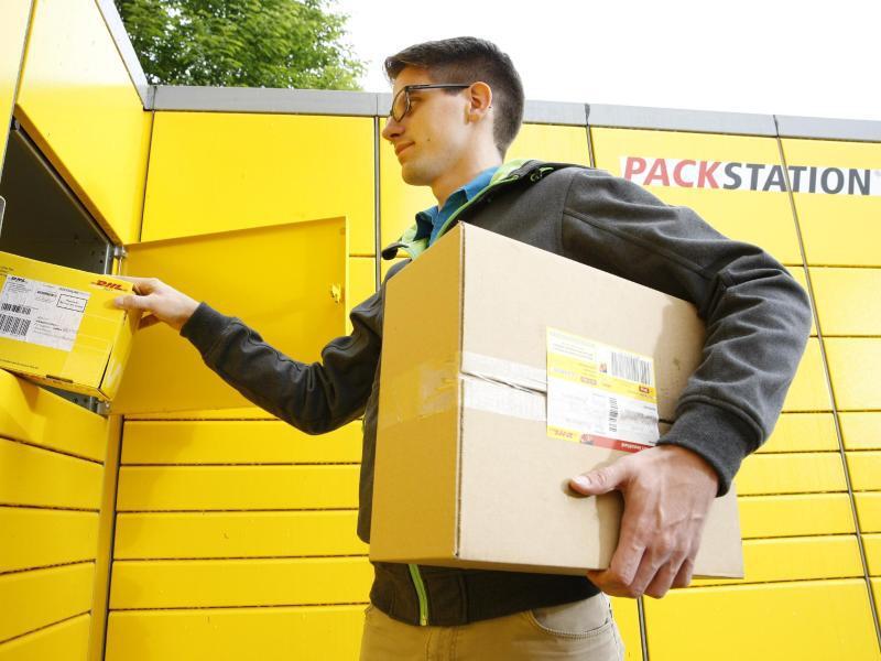 Bild zu DHL-Packstation