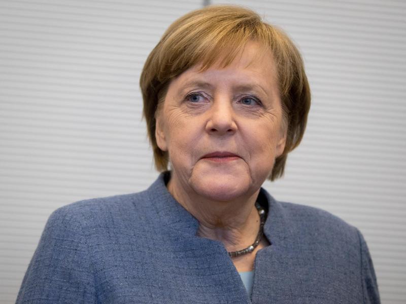 Bild zu Angela Merkel