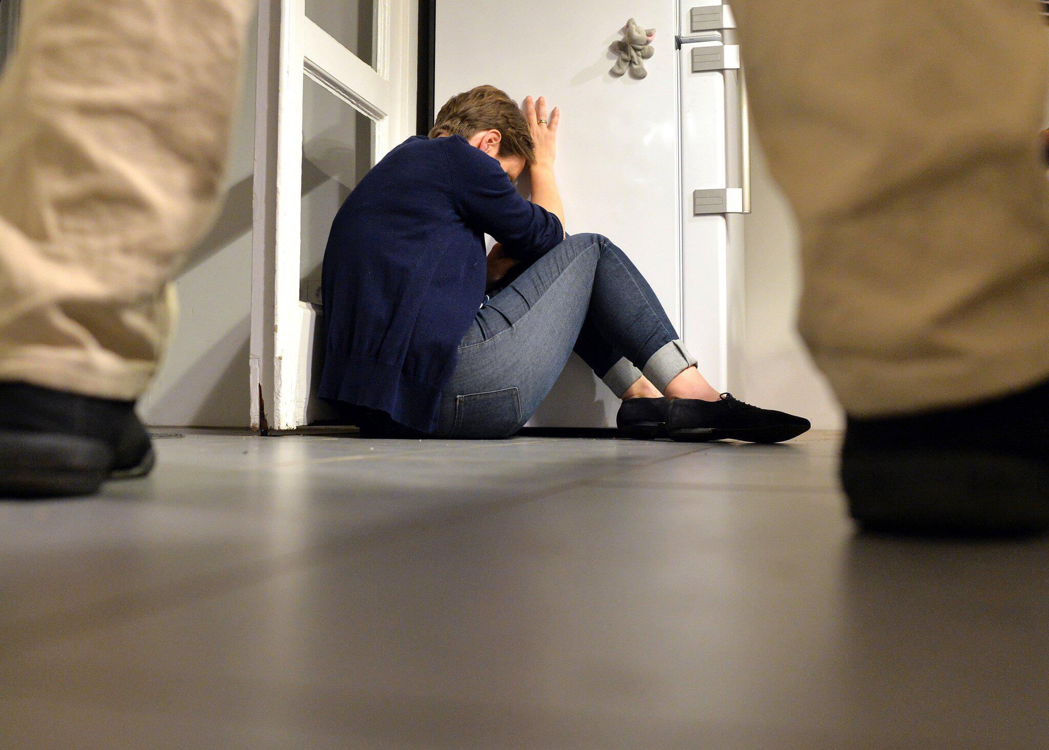 Bild zu Gewalt gegen Frau, häusliche Gewalt