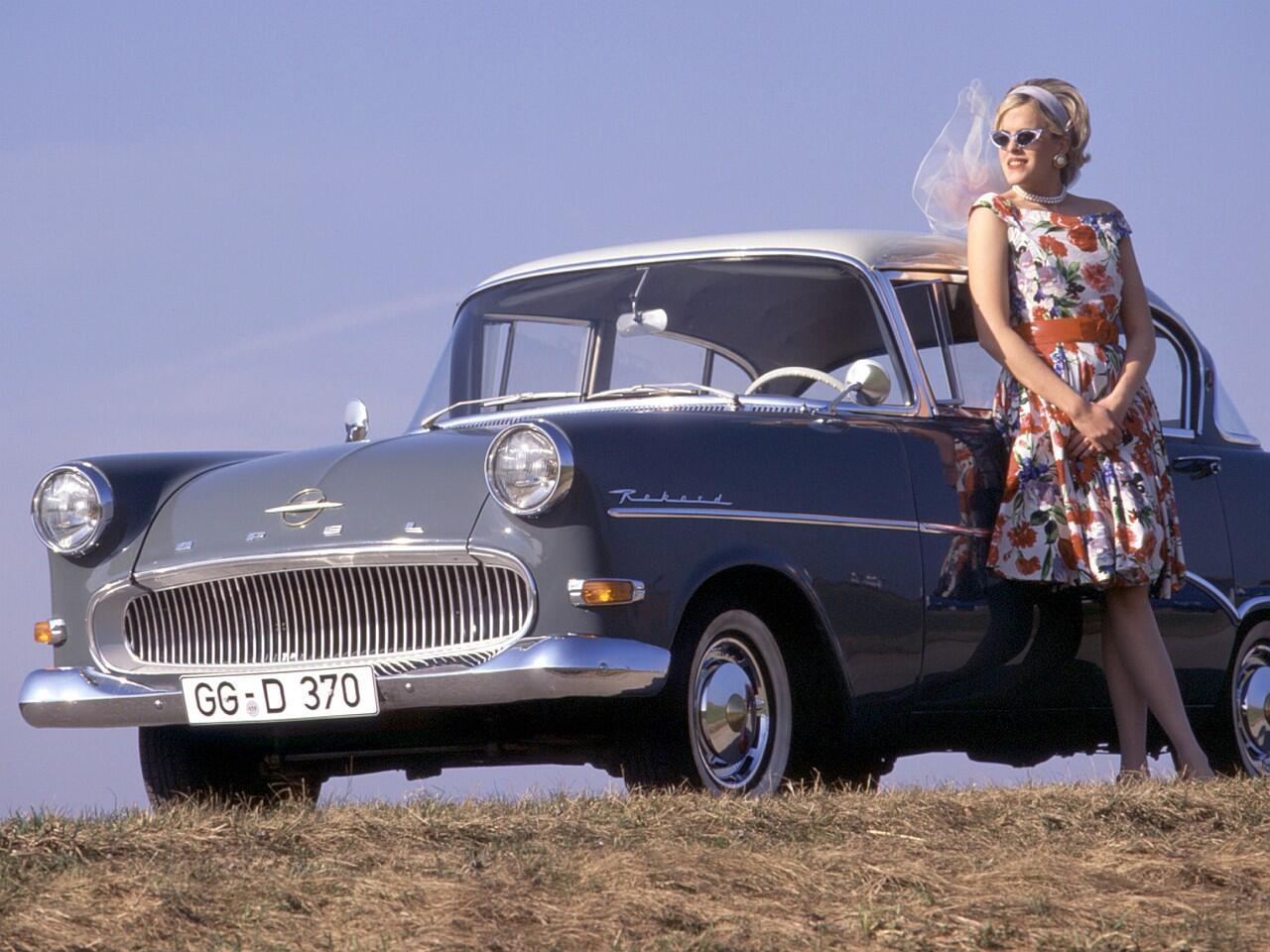 """Bild zu Opel Olympia Rekord: """"Haifischmaul"""""""