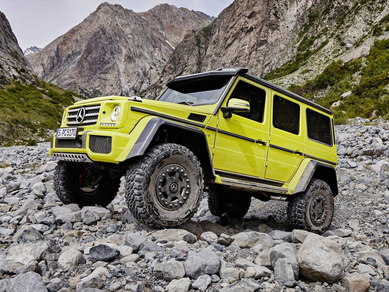 Bild zu Mercedes-Benz G 500 4x4²