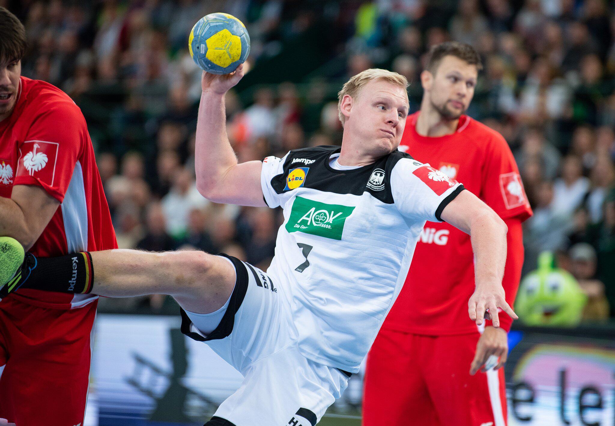 Bild zu Handball, EM, Qualifikation, Deutschland, Polen, Länderspiel, Halle, Patrick Wiencek