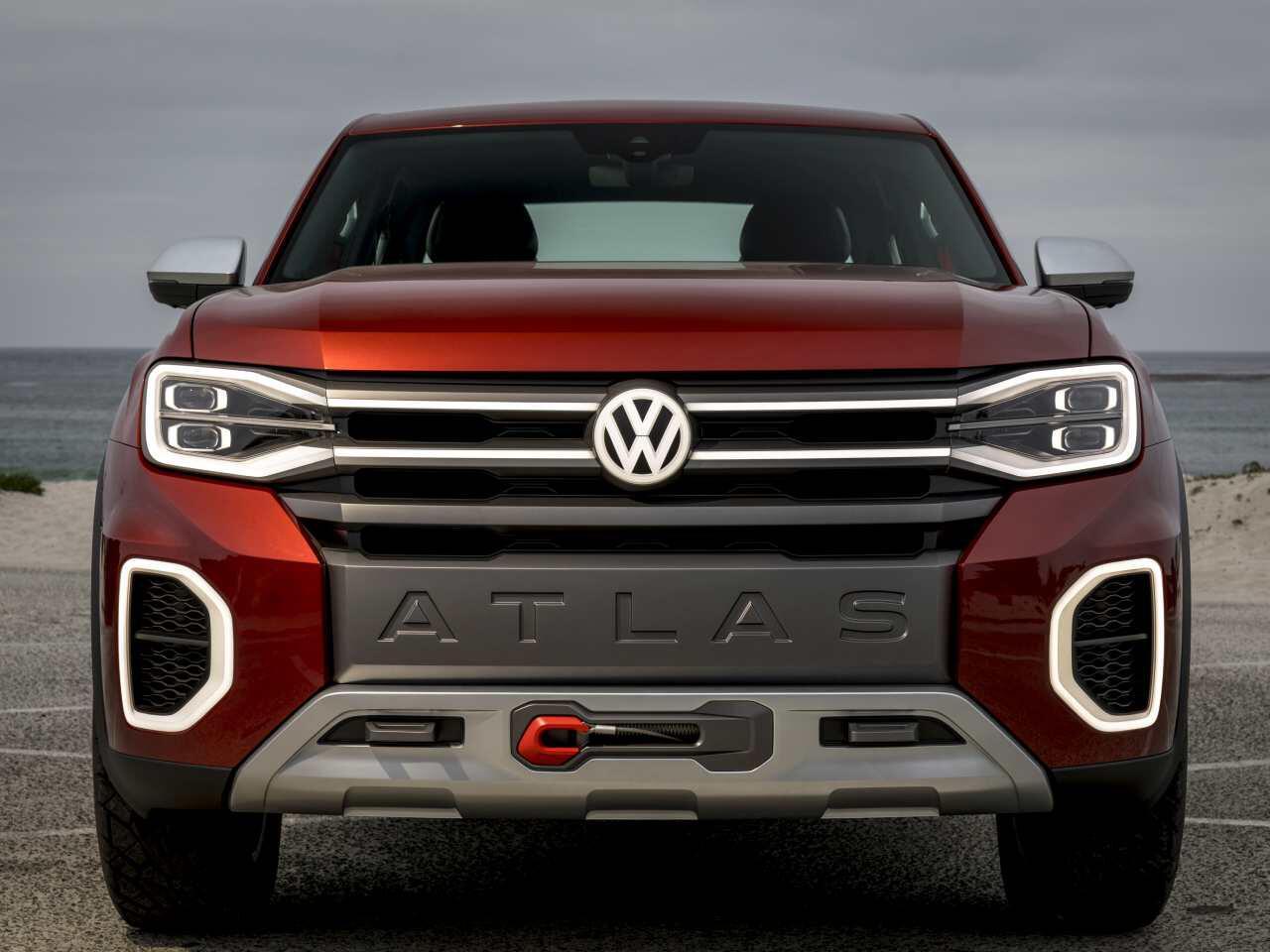 Bild zu VW Atlas Tanoak Concept