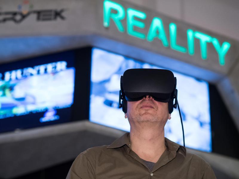 Bild zu Virtual Reality im Computerspielemuseum