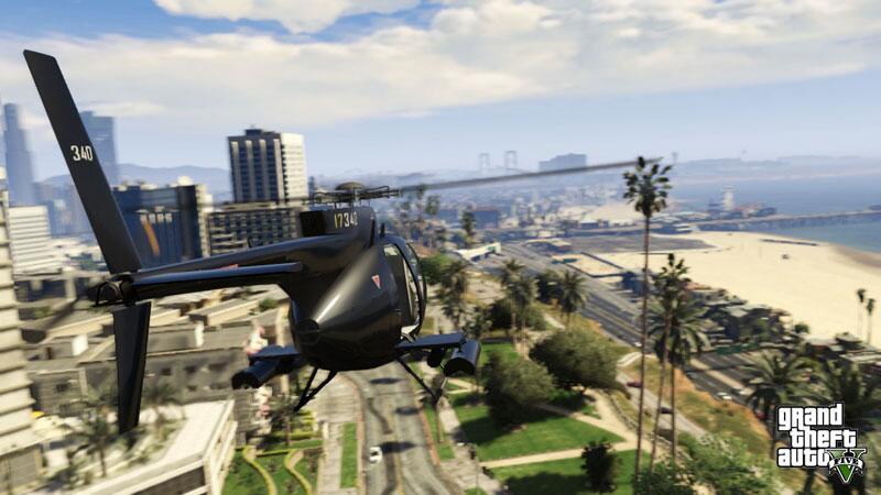 Bild zu Hubschrauberflug über Los Santos