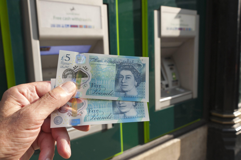 Bild zu Fünf Pfund Noten