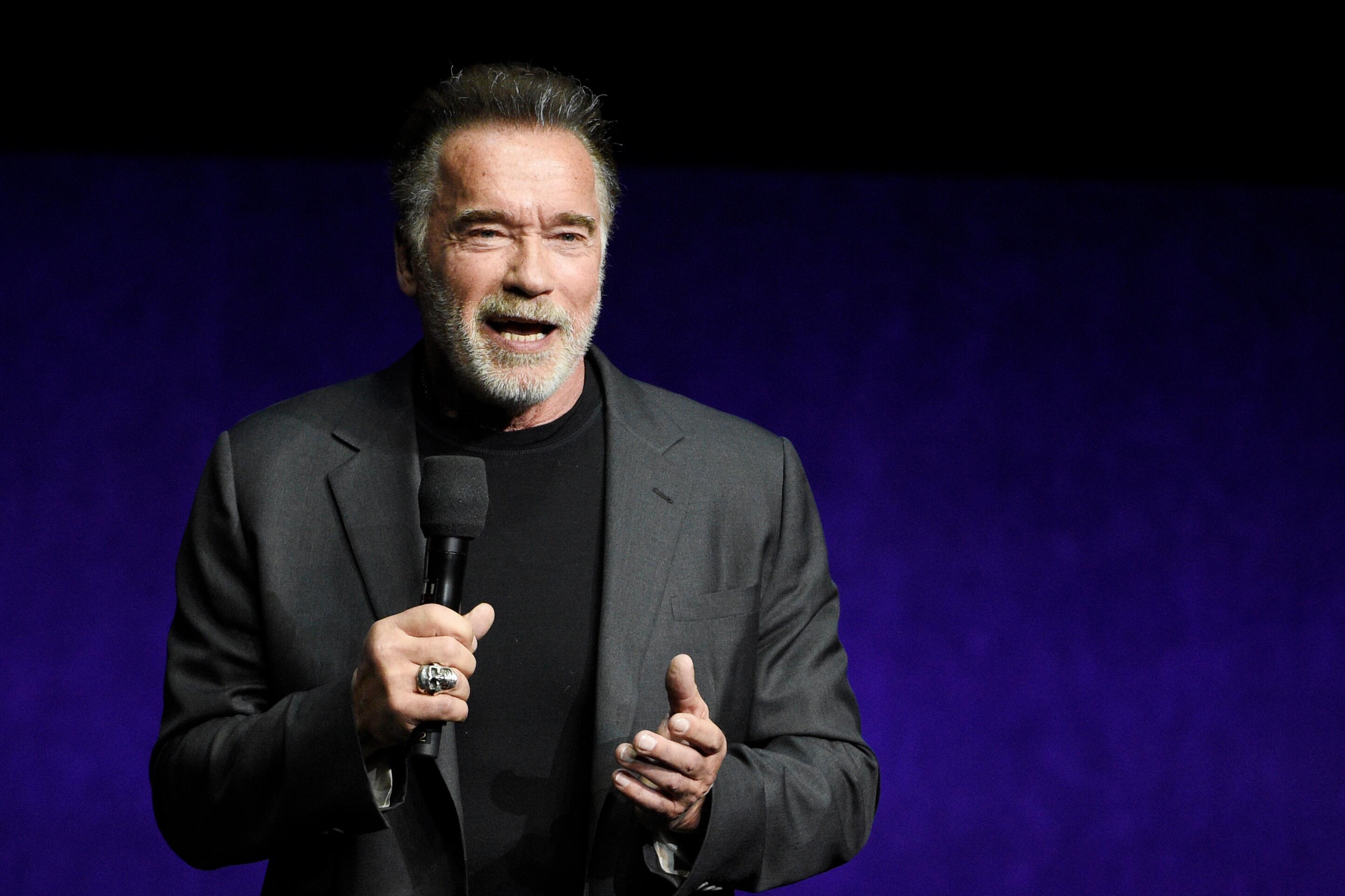 Bild zu Arnold Schwarzenegger