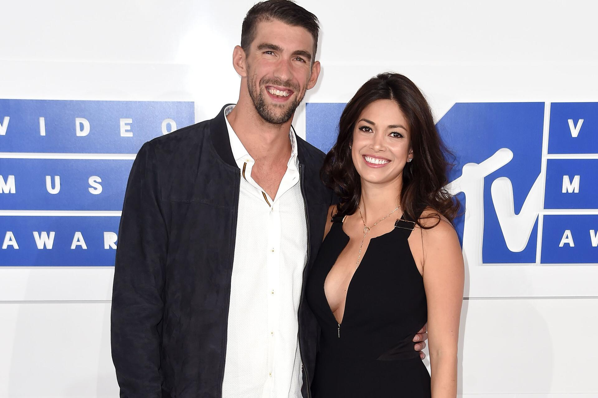 Bild zu Michael Phelps, Nicole Johnson, MTV Video Music Awards