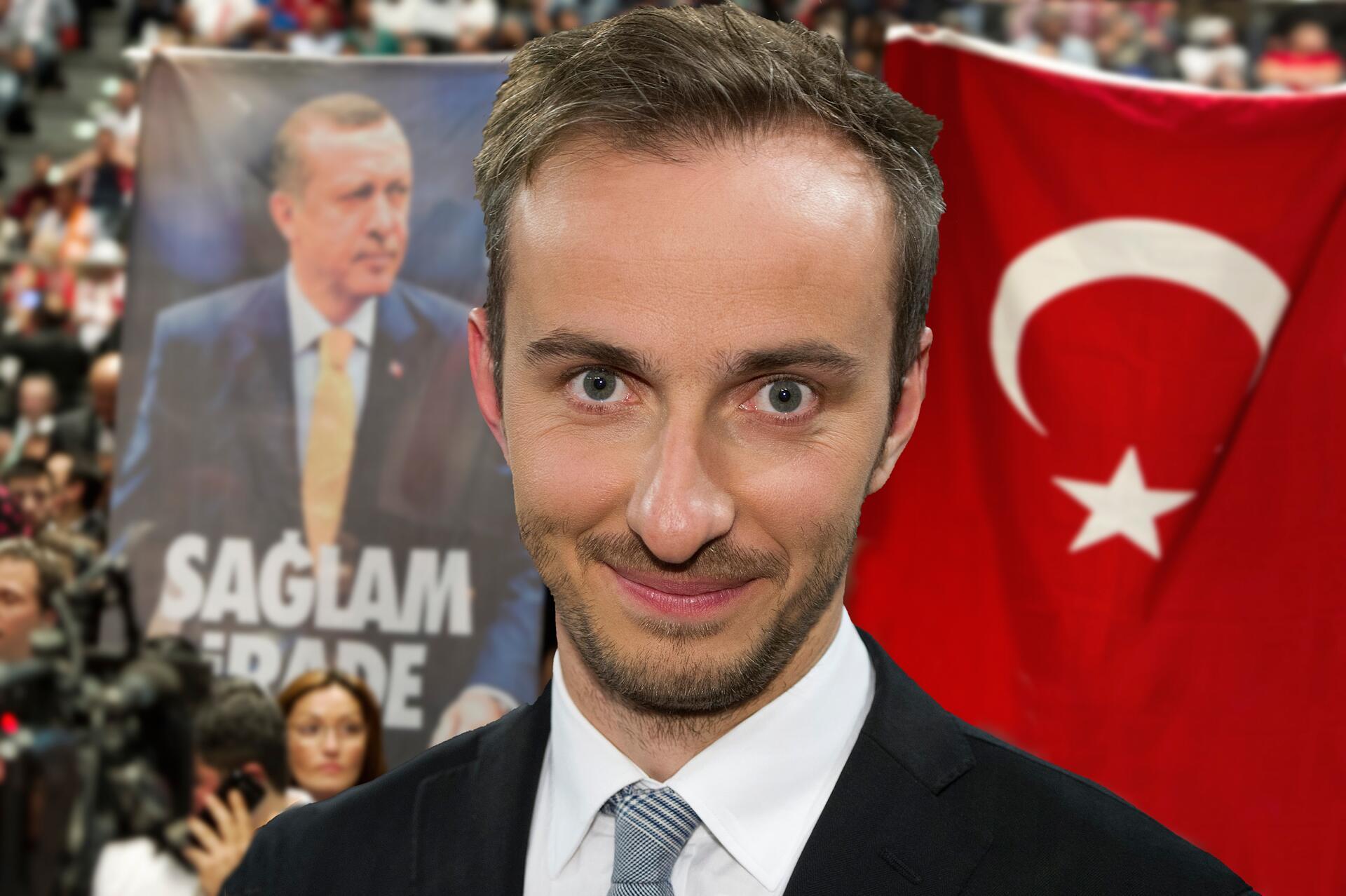 Bild zu Jan Böhmermann, Erdogan, Gedicht