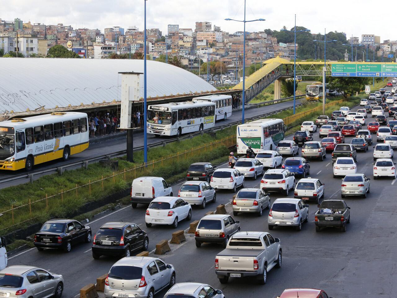 Bild zu Straßenverkehr in Brasilien