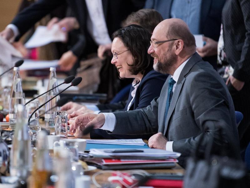 Bild zu Koalitionsverhandlungen