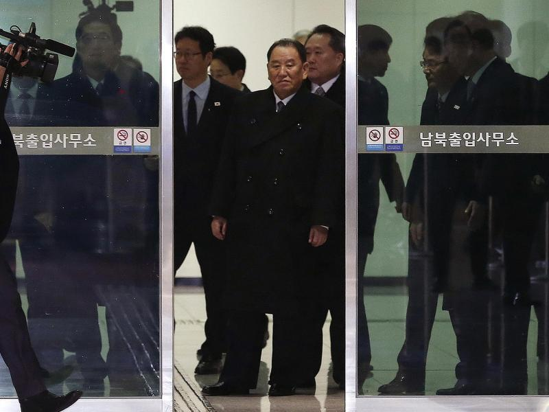 Bild zu Nordkoreanische Delegation