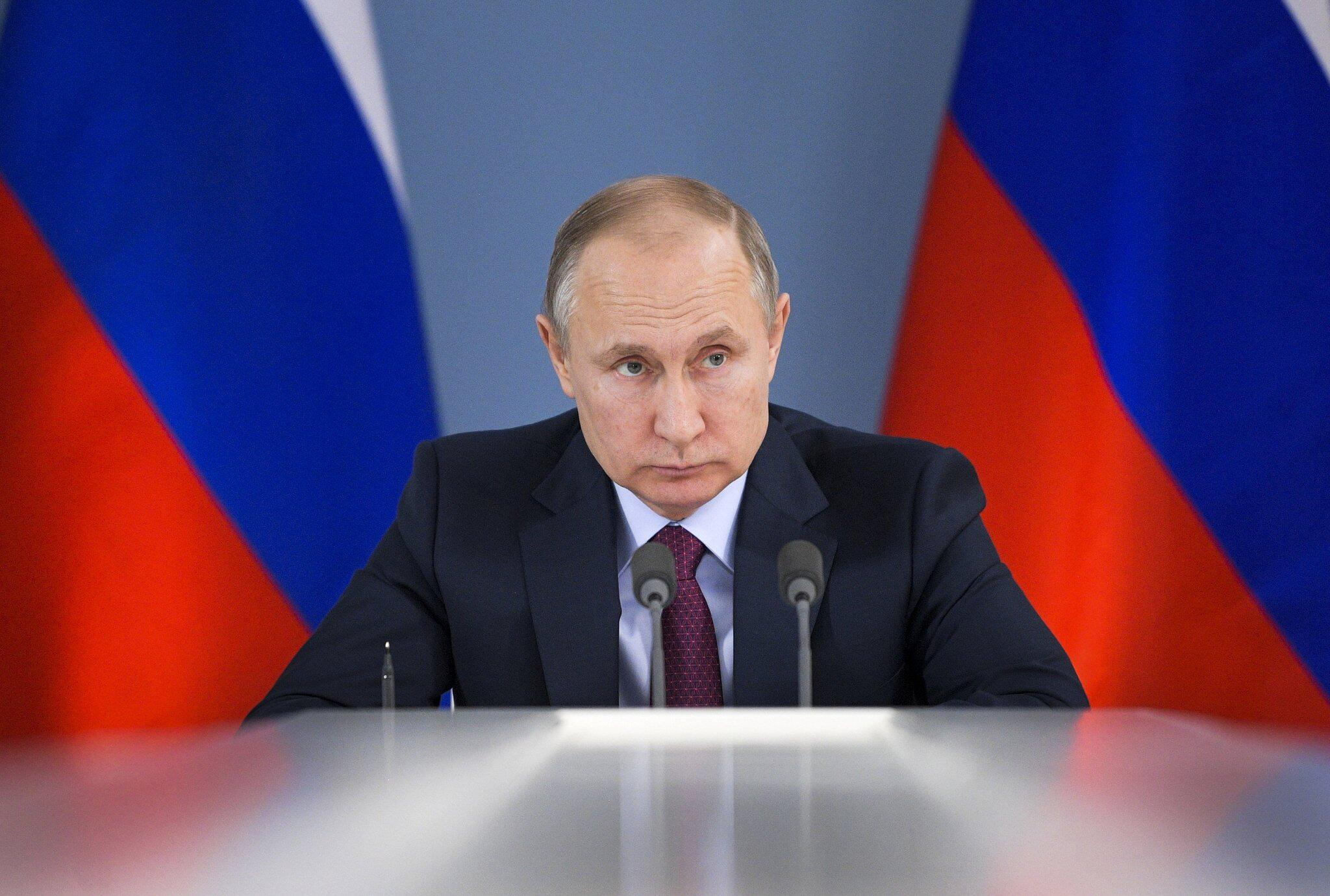 Bild zu Russischer Präsident zu Besuch in Samara