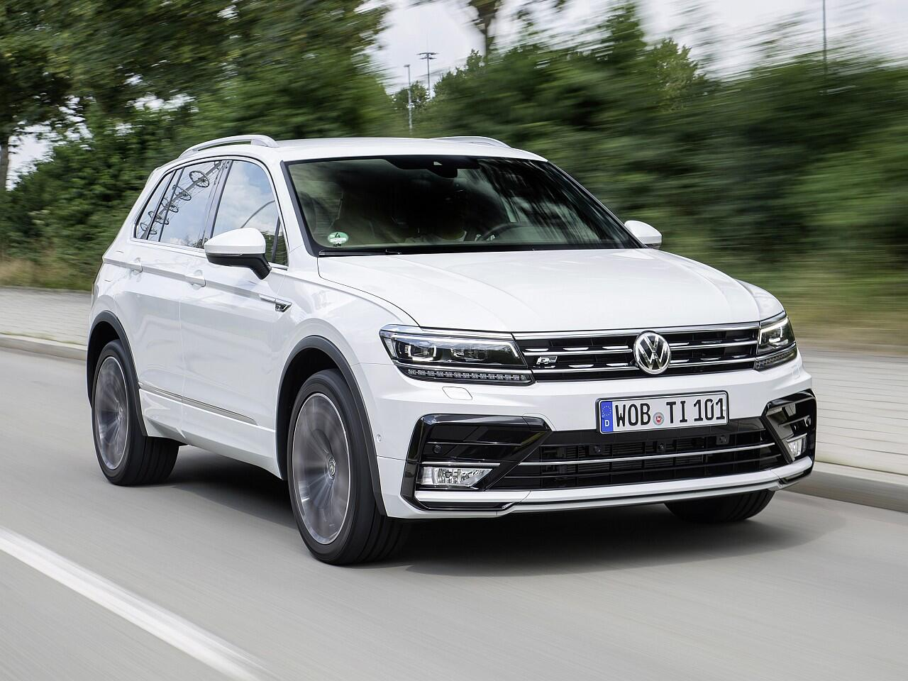 Bild zu Geländewagen: VW Tiguan