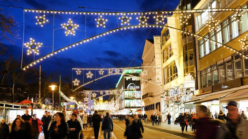 Weihnachtsbeleuchtung in Kassel