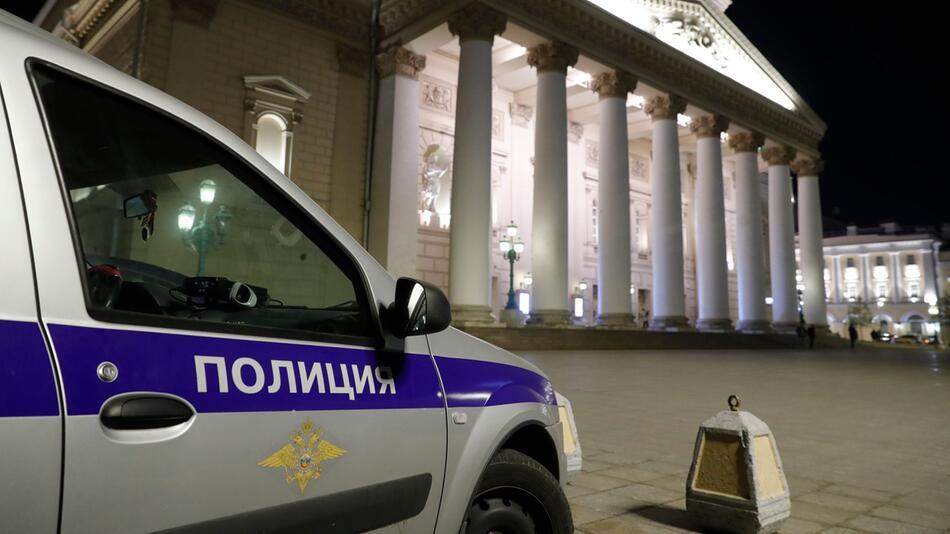 Künstler stirbt bei Aufführung im berühmten Bolschoi Theater