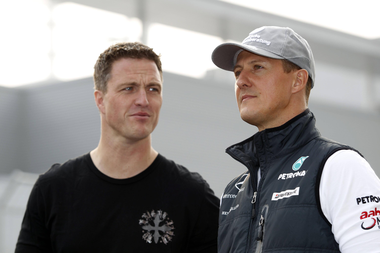 Bild zu Ralf Schumacher, Michael Schumacher