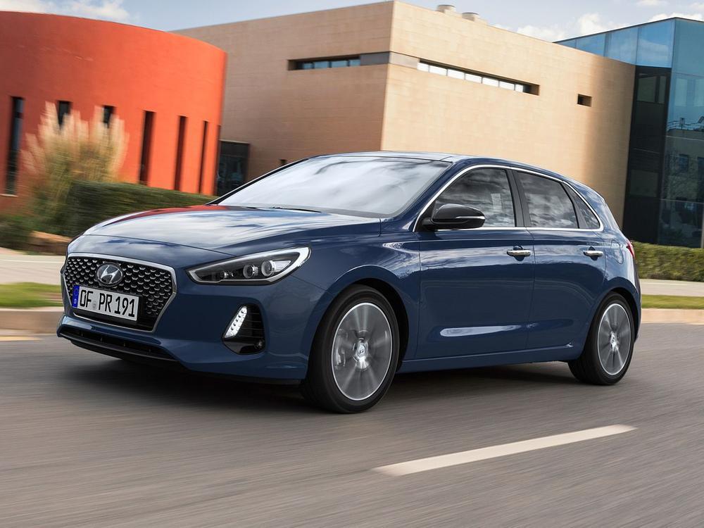 Bild zu Hyundai i30 1.6 CRDI blue Trend DCT