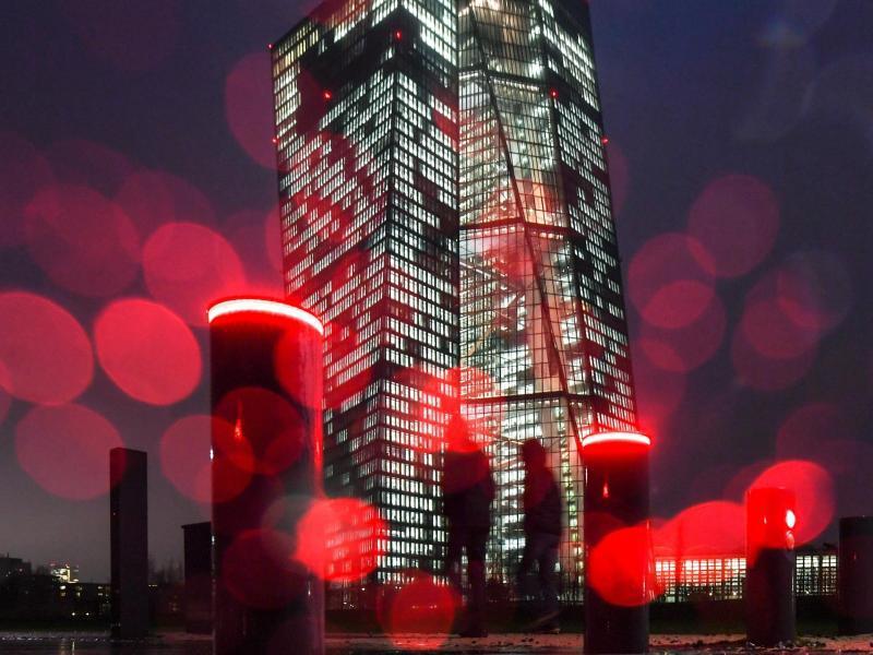Bild zu Europäische Zentralbank in Frankfurt