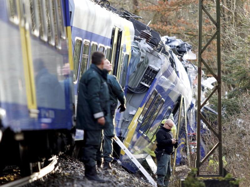 Bild zu Zugunfall in Oberbayern