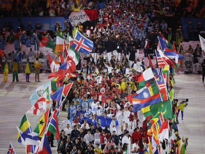 Bild zu Olympia-Spektakel