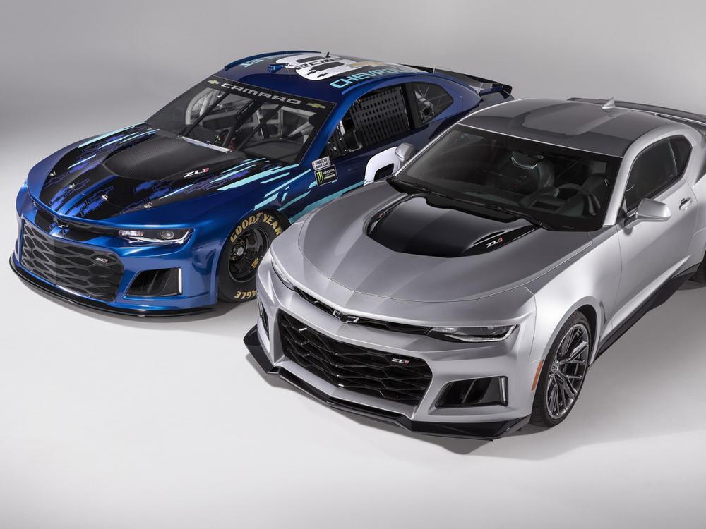 Bild zu Camaro ZL1 NASCAR