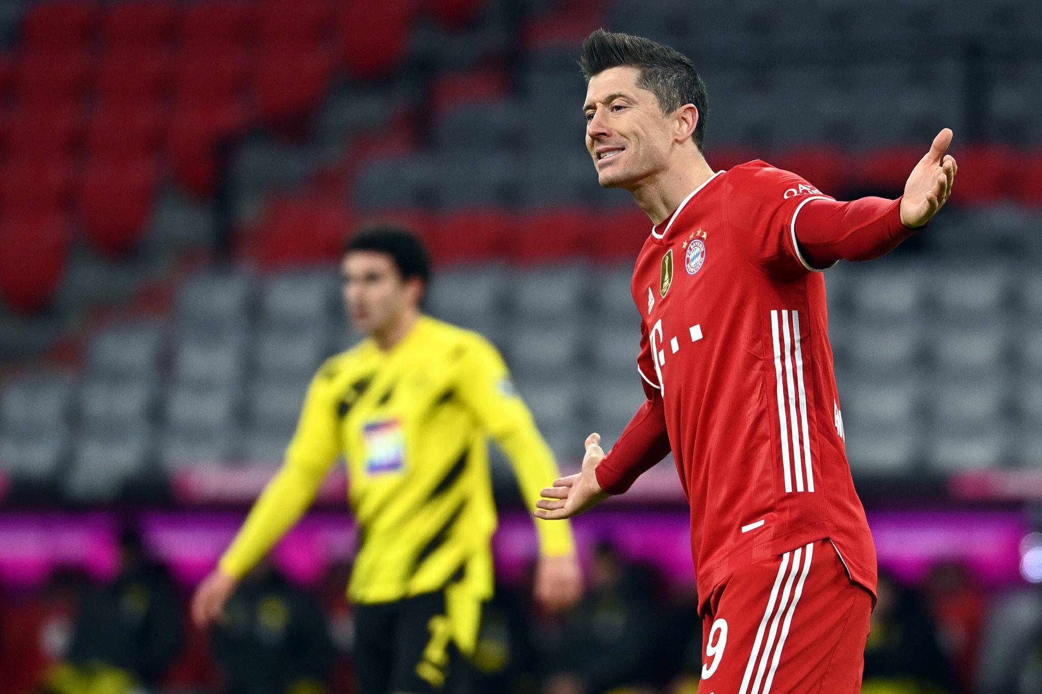 Bild zu FC Bayern München - Borussia Dortmund