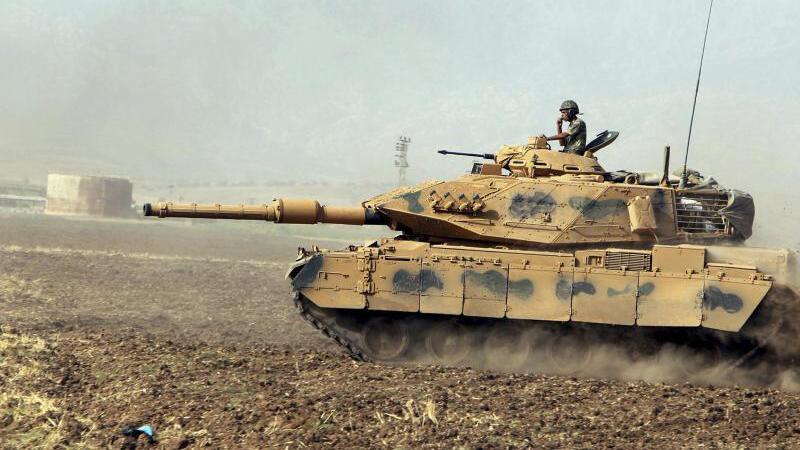 Türkischer Panzer
