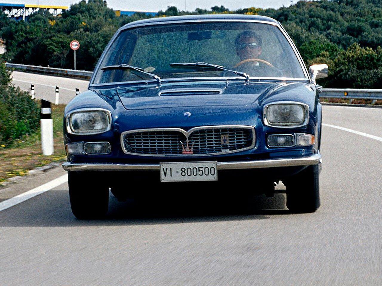Bild zu Maserati Quattroporte I von 1963