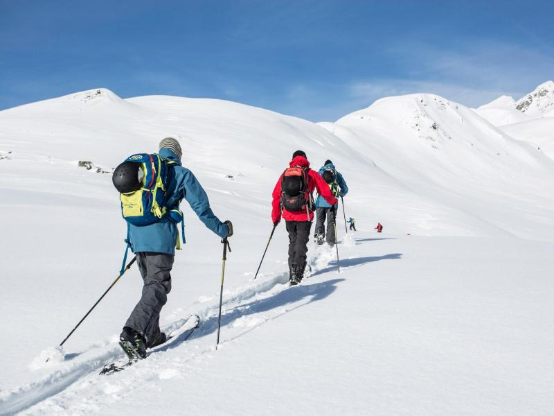 Bild zu Skitourengeher