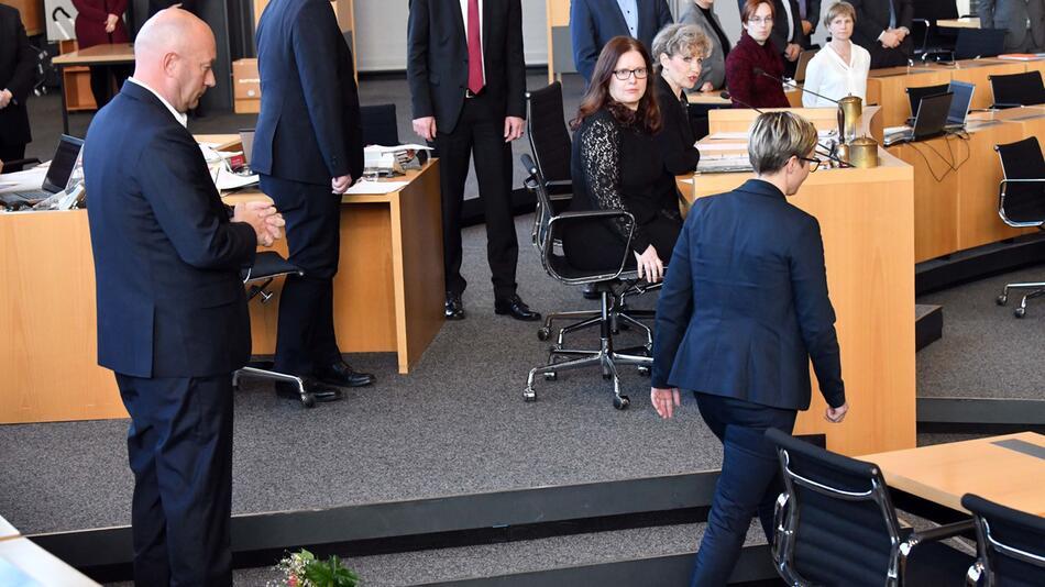 Ein Jahr nach der Wahl zum Ministerpräsident von Thomas Kemmerich