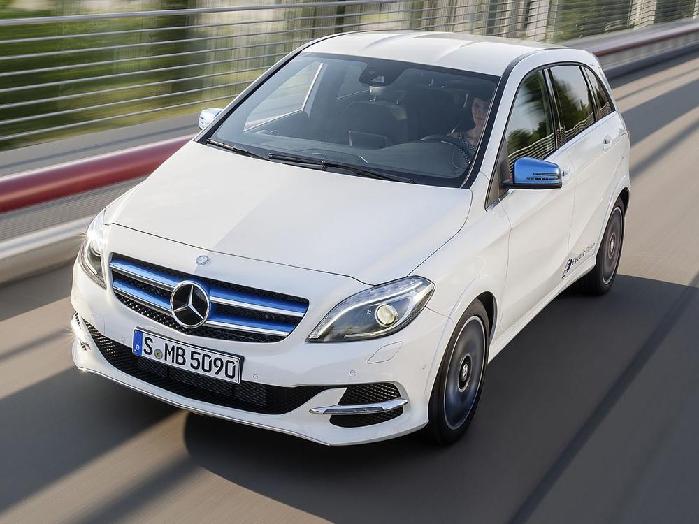 Bild zu Mercedes B 250 e