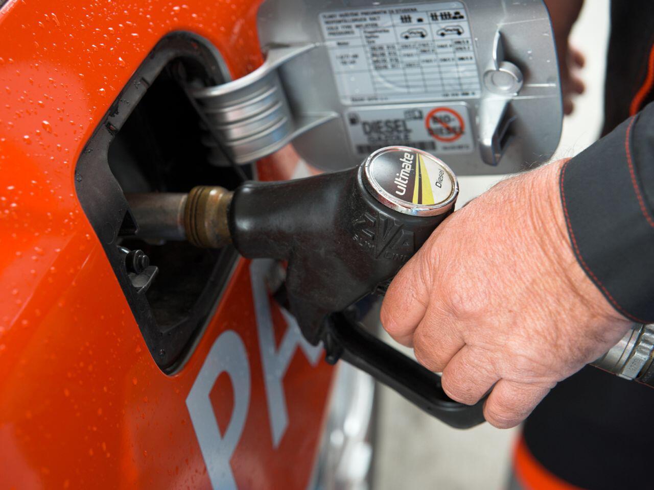 Bild zu Der Benzinverbrauch lässt sich durch eine spezielle Fahrweise senken