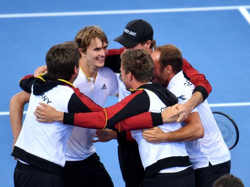 Bild zu Davis Cup Team