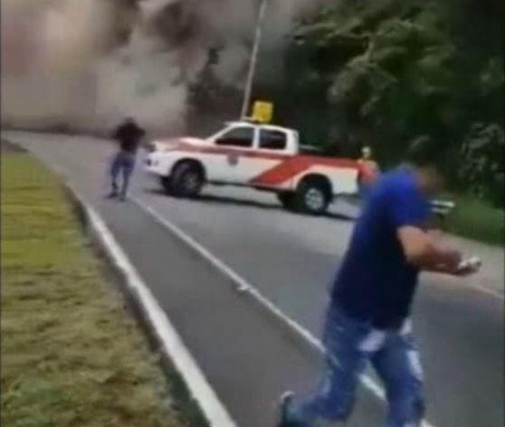 Bild zu Vulkanausbruch, Guatemala, Flucht, Asche