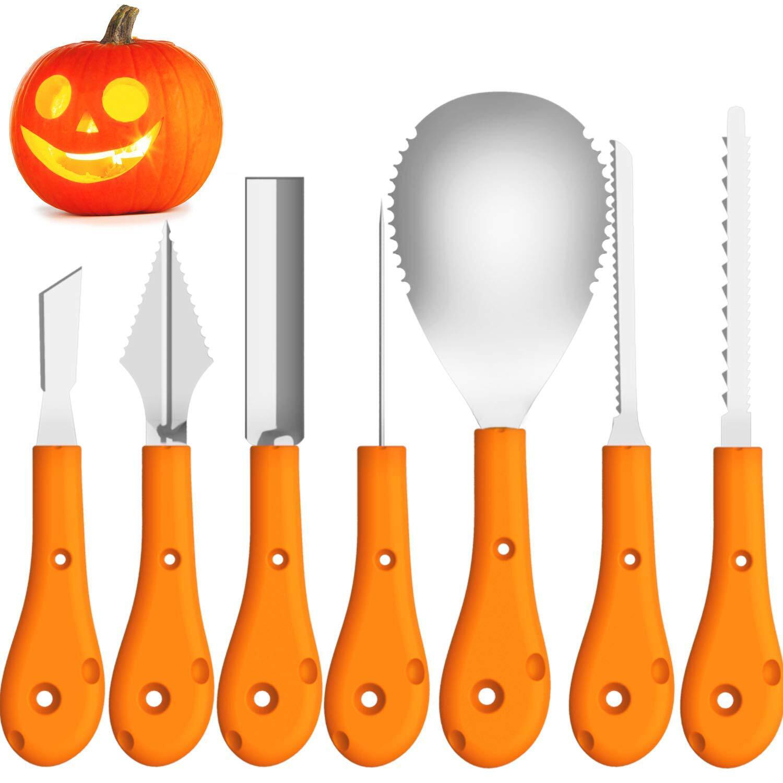 Bild zu Nicht nur an Halloween macht Kürbisschnitzen Spaß.