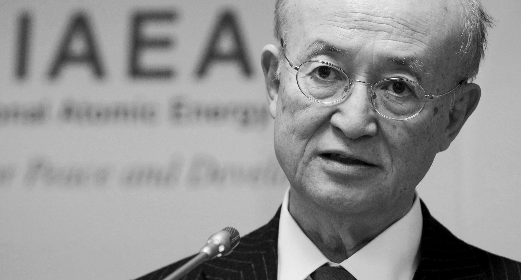 IAEA-Chef Amano gestorben