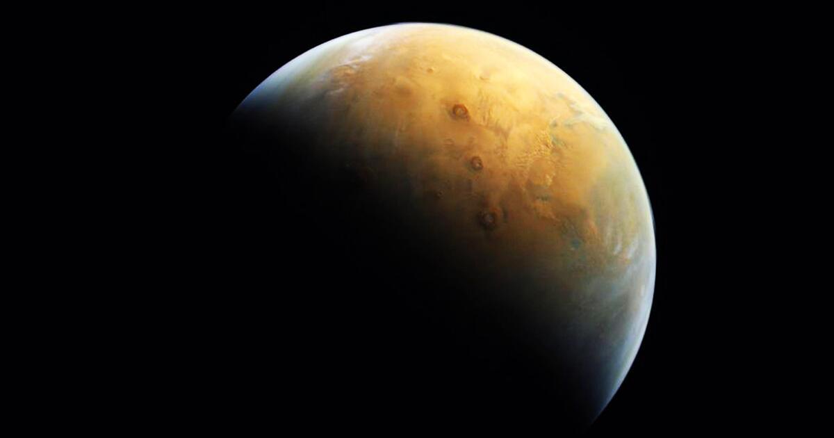 Spektakuläre Weltraumbilder: Arabische Sonde