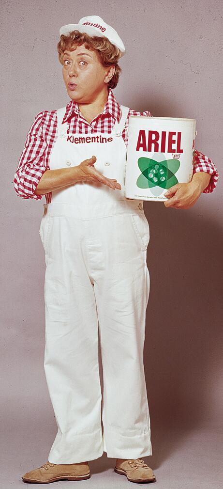 Bild zu Ariel Werbung
