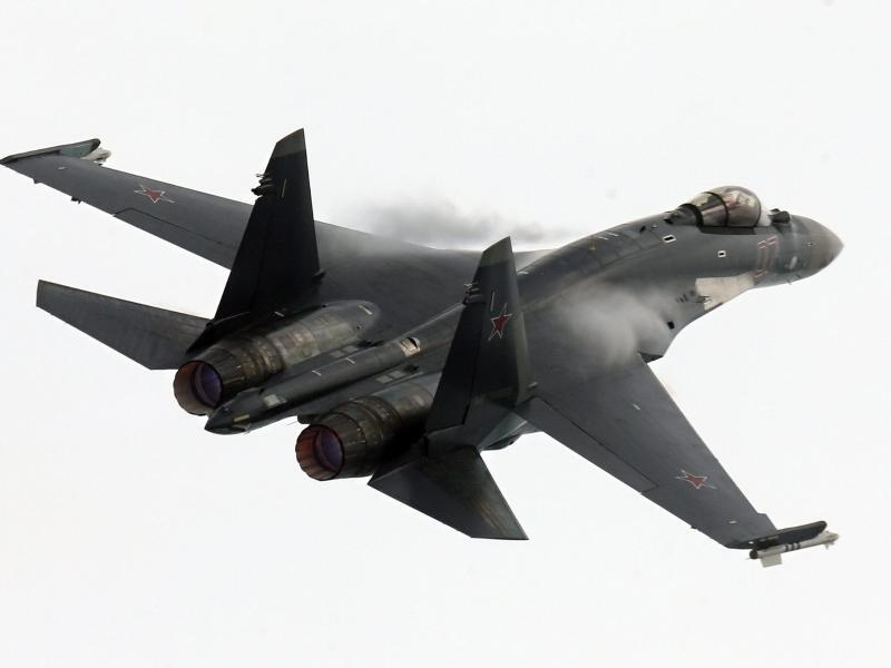 Bild zu Russisches Kampfflugzeug