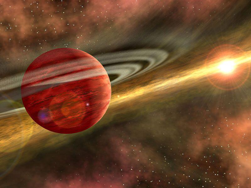 Bild zu Roter Planet