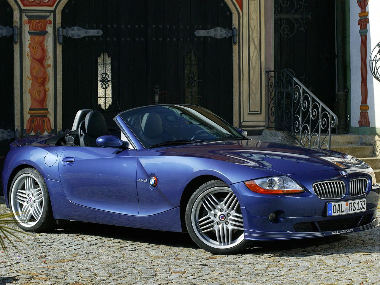 Bild zu BMW Alpina Roadster S